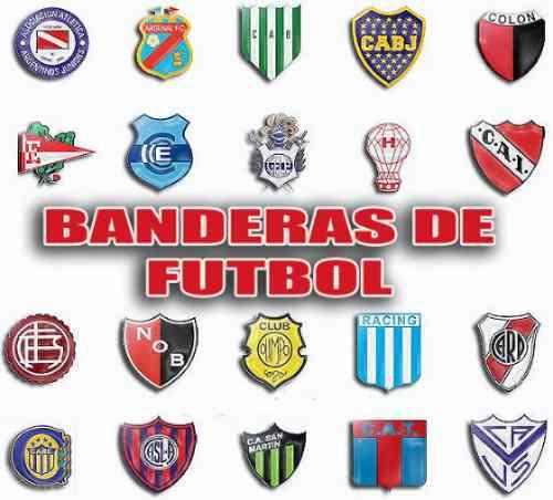 Banderas Futbol Equipos Nacionales Boca River Independiente