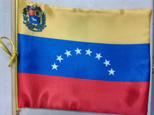 banderas para escritorios, / estandares personalisados 22x18