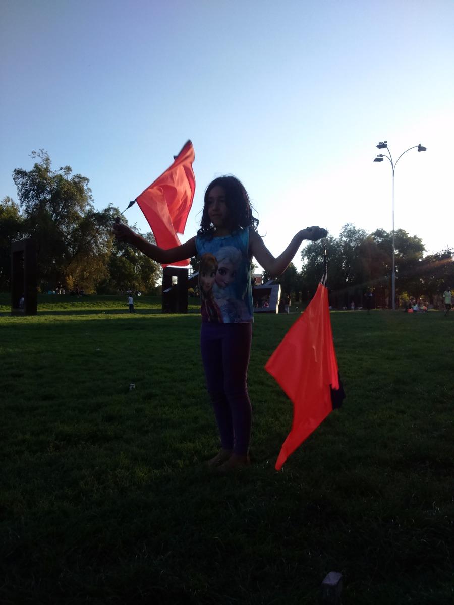 Swinging con banderas