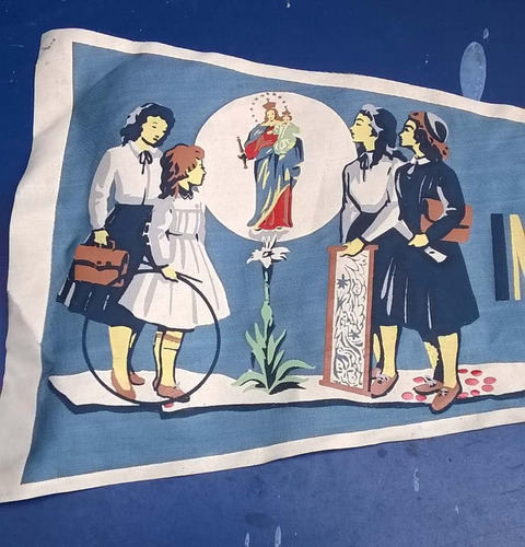 banderín antiguo instituto maría auxiliadora chile