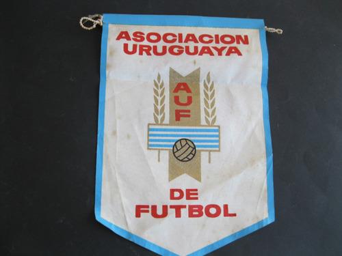 banderin-asociacion uruguaya de futbol  -  a.   u.   f.