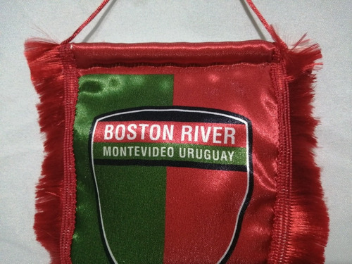 banderín boston river montevideo uruguay, fútbol