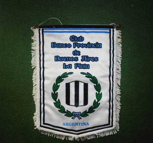 banderín club banco provincia buenos aires la plata