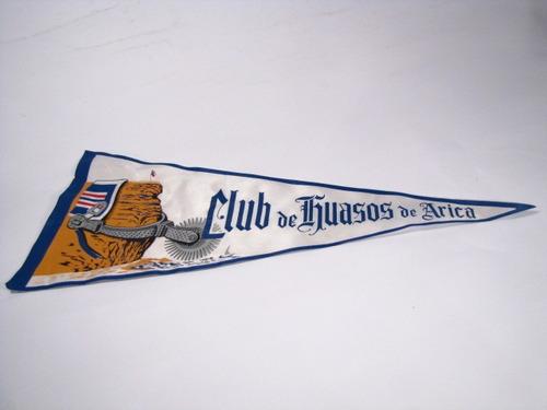 banderin club de huasos de arica.