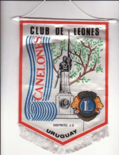 banderin - club de leones - distrito j2 - canelones