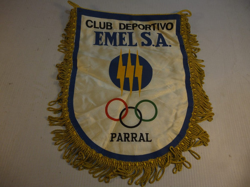 banderin club deportivo emel s.a. parral