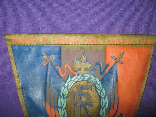 banderin de camara de comercio francia america latina