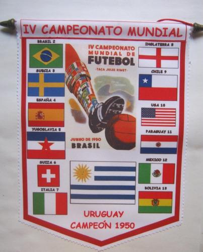 banderin de futbol del mundial 1930. uruguay.