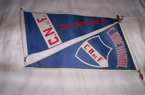banderin de nacional..buen estado..leer...solo uno....