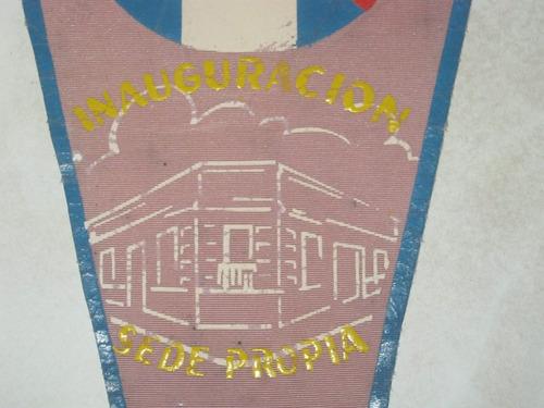 banderin inauguracion sede propia liga futbol de paysandu