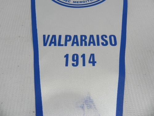 banderin liga maritima de chile valparaiso