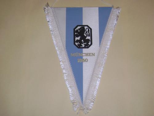 banderin munich 1860 de alemania 70s importado
