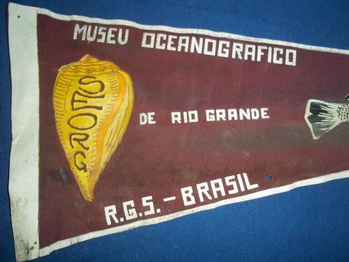 banderin museu oceanografico de rio grande año 1953