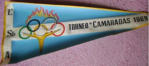 banderin olimpiadas de la fuerza aerea