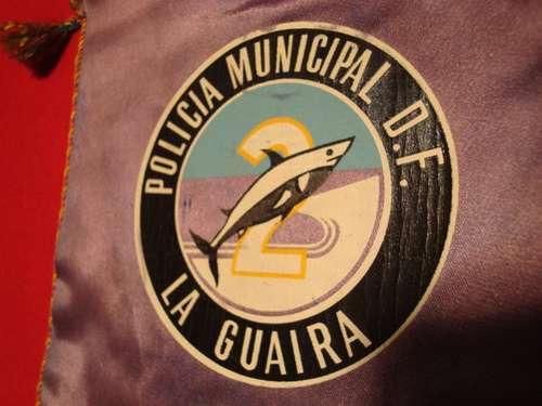 banderin policia la guaira, venezuela