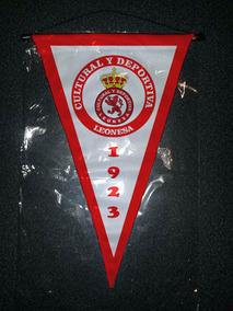 Leonesa Cm España Cultural Banderin Triangular 37x24 JK1lFc