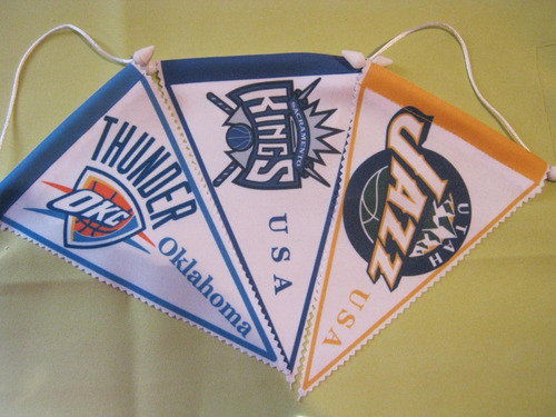 banderines de basquet son 32 nba
