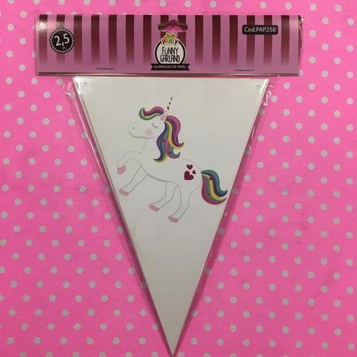 banderines de cumpleaños unicornio - jupiter party