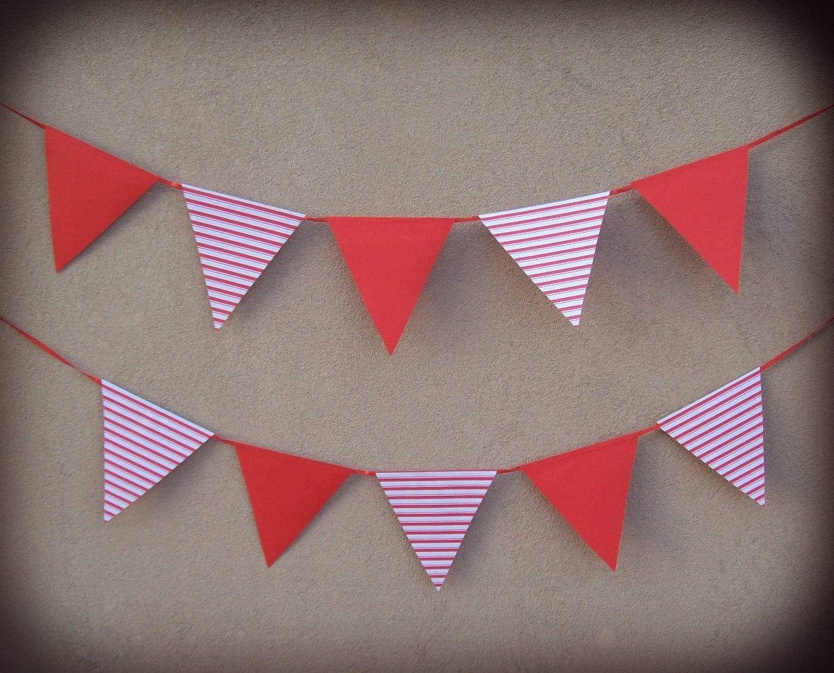 banderines de papel p decorar guirnaldas cumpleaos