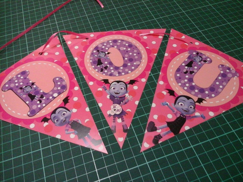 banderines de papel personalizados baby shower cumples