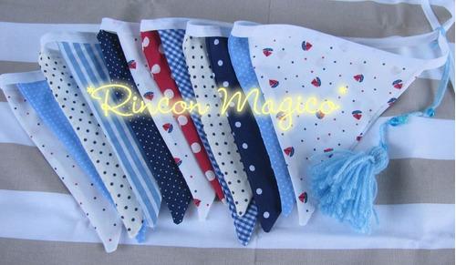 banderines de tela!! - muchos colores!!