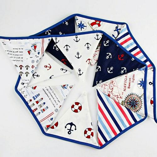 banderines decoración  / algodón