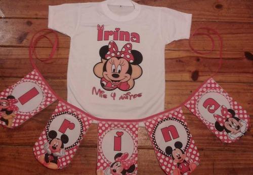 banderines en tela personalizado cumple fiestas baby shower