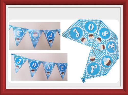 banderines, guirnaldas grandes 100% personalizados!!!