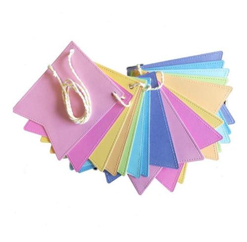 banderines multicolores guirnalda