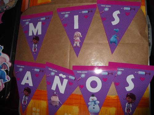 banderines para cumpleaños, carteles infantiles