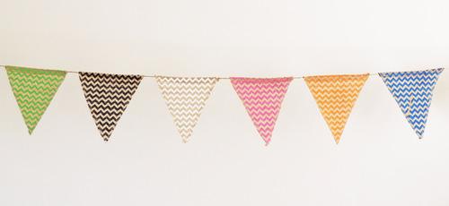banderines para el cuarto o para el jardín. divinos!!!