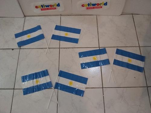 banderita de mano de argentina