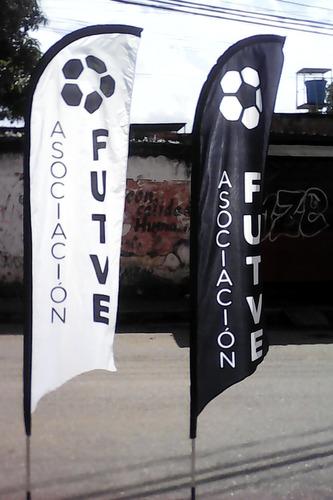 banderolas, banderas publicitarias, flag banner.