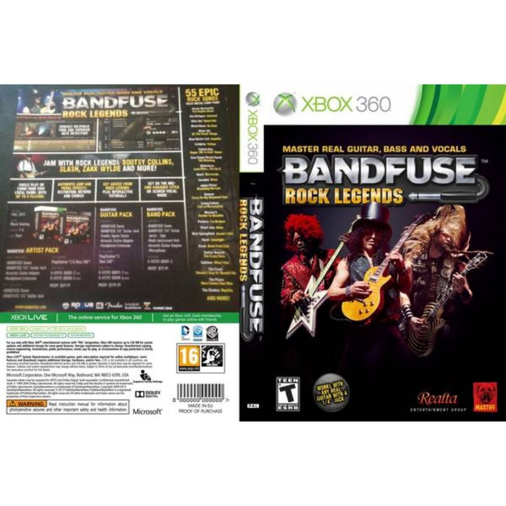 bandfuse xbox machine repair manual BandFuse Audio Adapter