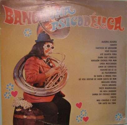 bandinha psicodélica  -  seleção  - phonodisc-lp-034405076