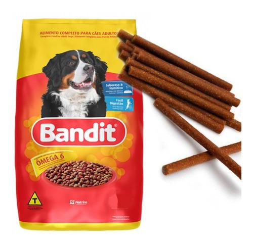 bandit adulto 25 kg con deliciosos snacks