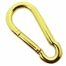 bandola acero forma de 8 dorada 8 cm con 25 piezas obi