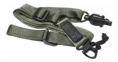 bandoleira tática magpul ms2 verde dynamic / airsoft