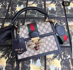 3709694f3 Cartera Gucci - Ropa y Accesorios Gris oscuro en Mercado Libre Argentina