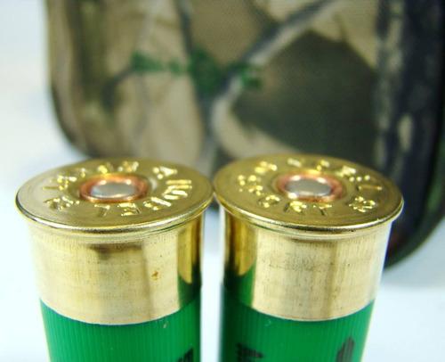 bandolera carrillera p/ tiros escopeta cal 12 y 16 cazeria