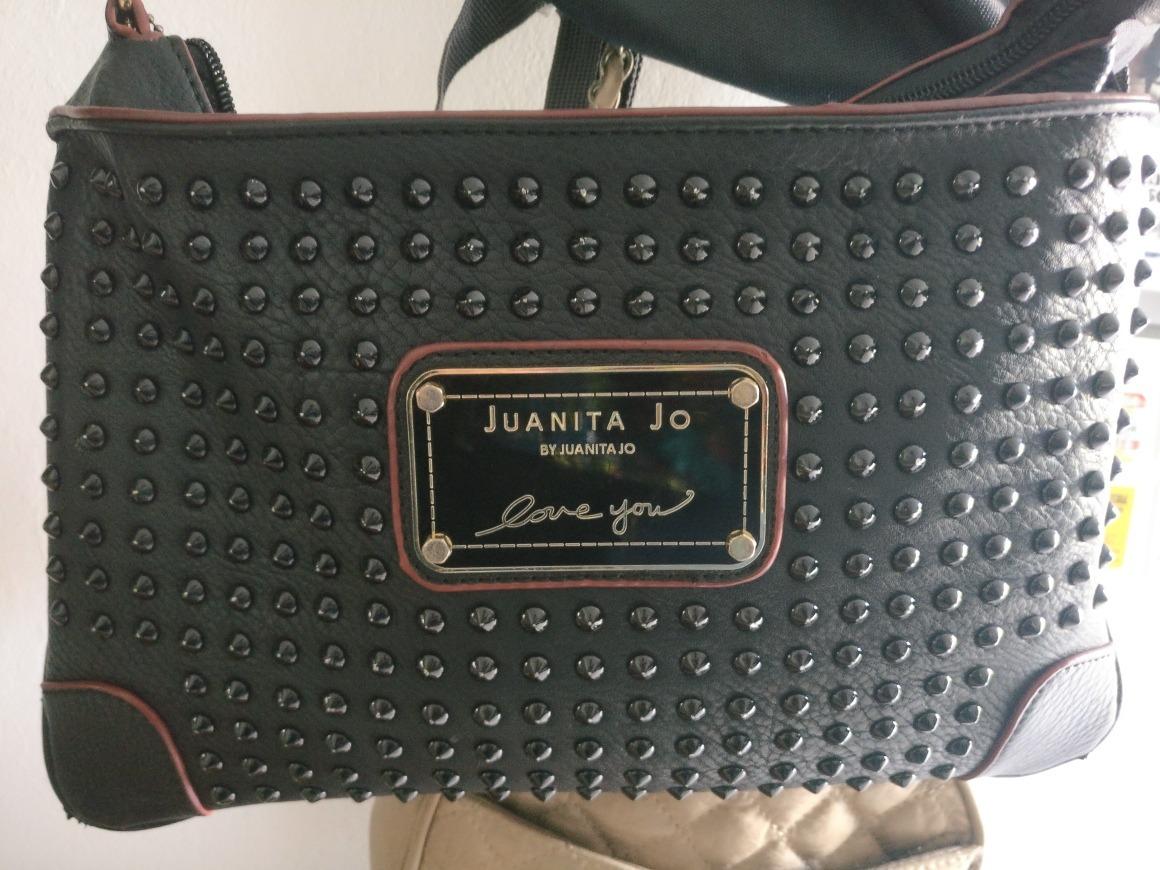 8c6ea2030 Bandolera Cartera Tachas Juanita Jo No Prune No Besha - $ 2.000,00 ...