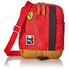b0b44d5f212cf Puma Ferrari Replica Portable 070038 01 Rojo Mariconera - Equipaje y ...
