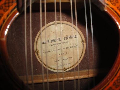 bandurria española - marca: union musical española