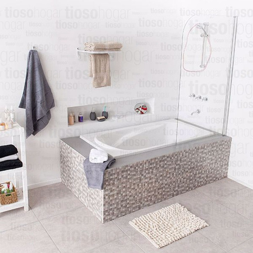 bañera 1.60 cm acrilico abs reforzada greensir apoyabrazos