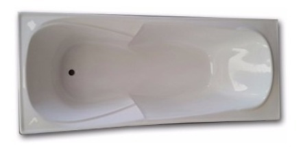bañera 1.70 fibra reforzada anatomica apoyabrazo super ofert