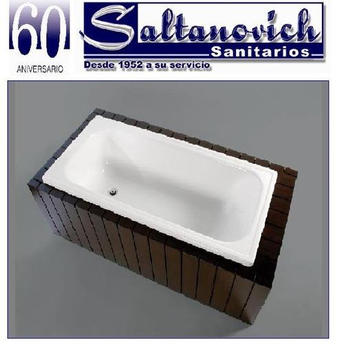 bañera acrilico sanitario 120x70 bagnara linea clasica