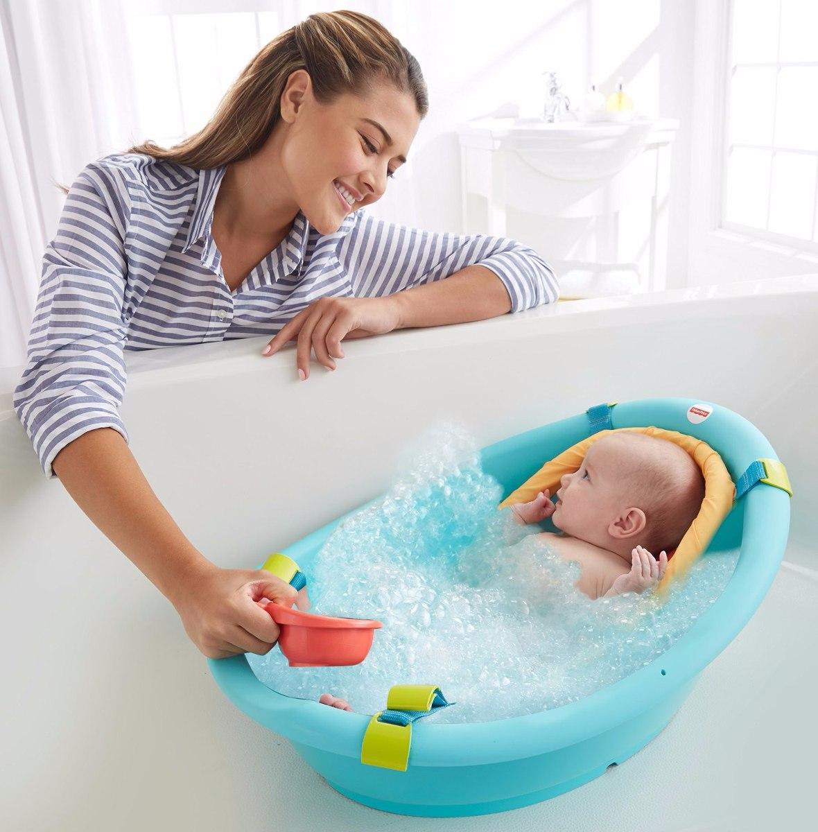 Ba era ba o bebe 3 in 1 fisher price ergonomica ducha - Banera bano ...