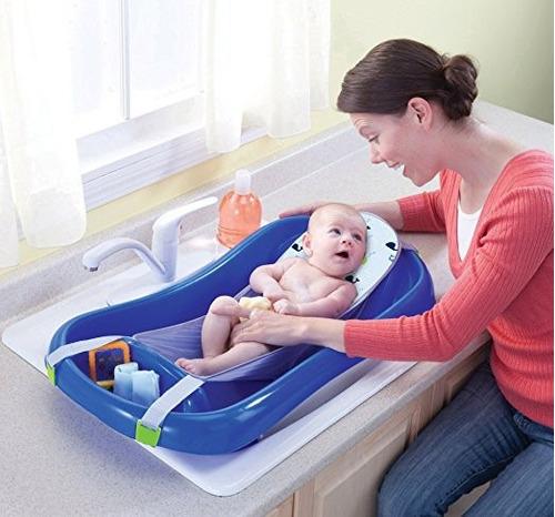 bañera baño bebé