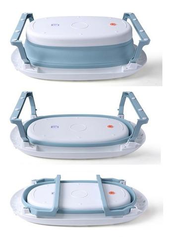 bañera bebe plegable con adaptador red reductora colores