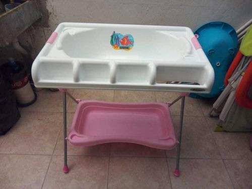 bañera cambiador con fácil desagüe prinsel usado buen estado